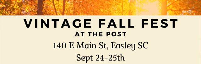 Vintage FALL FEST Early Bird Shopping