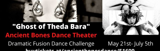 """""""Ghost of Theda Bara"""" Dramatic Fusion Dance Challenge"""