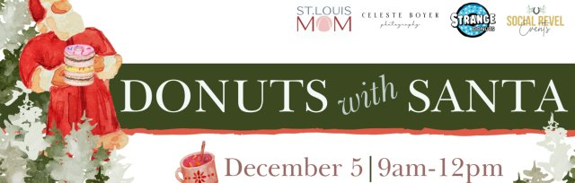 3rd Annual Donuts with Santa Event