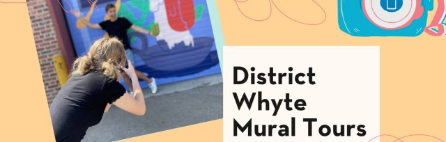 Sept 8 - Old Strathcona Instagrammable Wall (Mural Map) WALKING Tour + Food Crawl