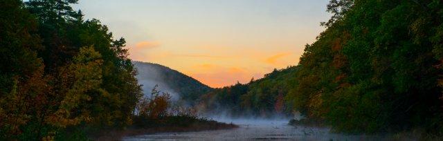 Morning Light—Sunrise at Innisfree