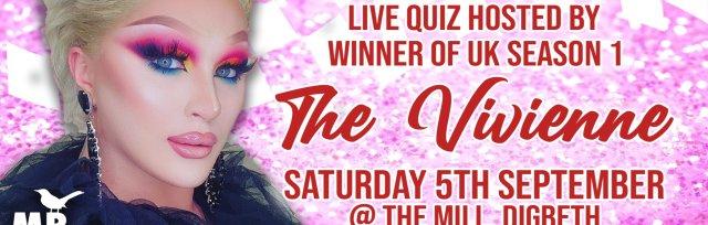 RuPaul's Drag Race Quiz with The Vivienne Live in Birmingham