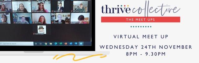 Thrive Collective November Evening Virtual Meet Up