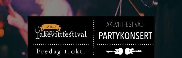 Akevitt-partykonsert med Inger Lise Rypdal (gjesteartist) - Akevittfestivalen 2021