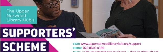 Upper Norwood Library Hub Supporters' Scheme