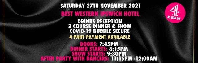 Ipswich Charity Dinner & Show w/ The Black Full Monty AKA The Chocolate Men