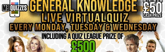 Mondays General Knowledge Quiz (General Knowledge Every Monday, Tuesday and Wednesday)