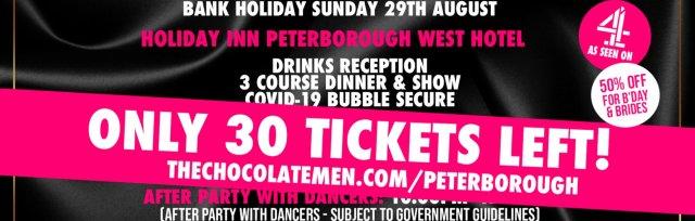 Peterborough Charity Dinner & Show w/ The Black Full Monty AKA The Chocolate Men