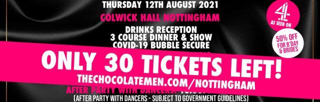 Nottingham Charity Dinner & Show w/ The Black Full Monty AKA The Chocolate Men