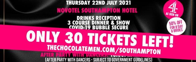 Southampton Charity Dinner & Show w/ The Black Full Monty AKA The Chocolate Men