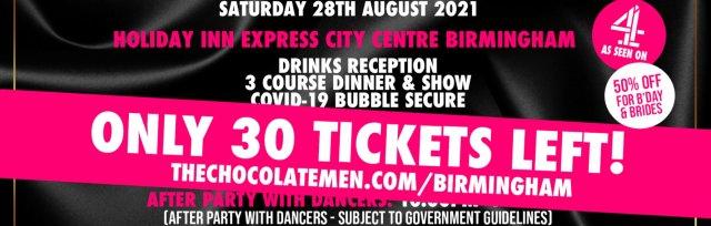 Birmingham Charity Dinner & Show w/ The Black Full Monty AKA The Chocolate Men