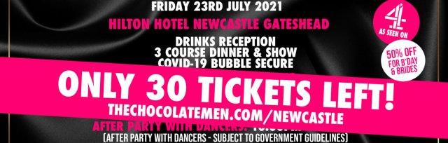 Newcastle Charity Dinner & Show w/ The Black Full Monty AKA The Chocolate Men