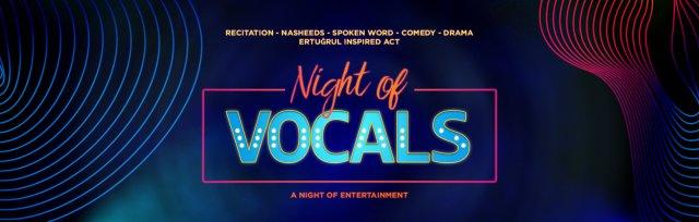 Night of Vocals - London