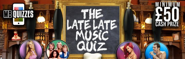 The Late Late Live Music Quiz