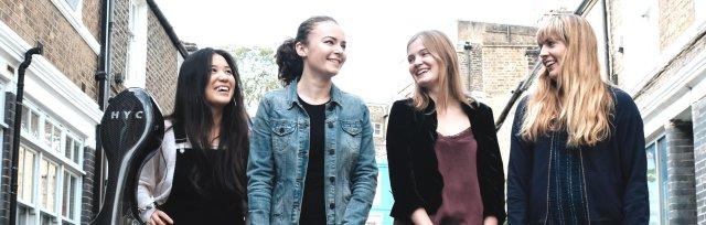 St Ives September Festival :   Halcyon Quartet :   'Café and Quartet'