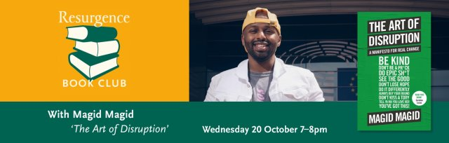 Magid Magid - The Art of Disruption: A Manifesto For Real Change