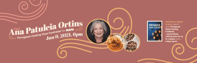 Portuguese Cooking Class Fundraiser with Chef Ana Patuleia Ortins