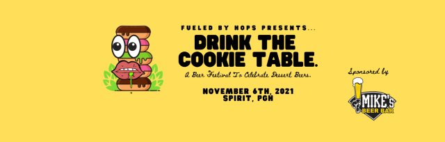 Drink The Cookie Table Beer Festival