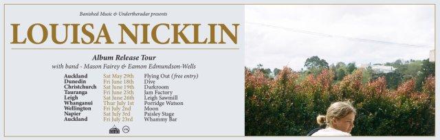 Louisa Nicklin Album Release Tour