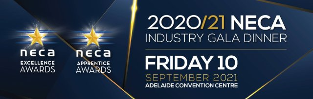 NECA SA/NT 2020/21 Industry Gala Dinner