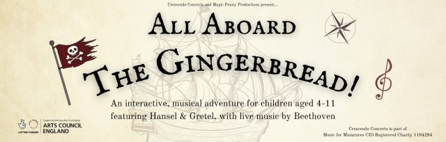 All Aboard The Gingerbread - NAILSEA 10.30am