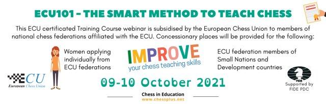 ECU101 - The SMART Method to teach Chess