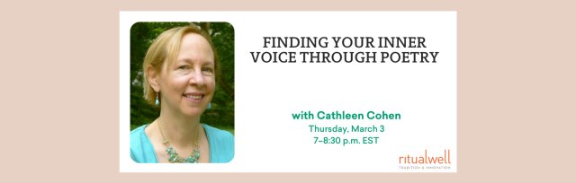 Finding Your Inner Voice through Poetry