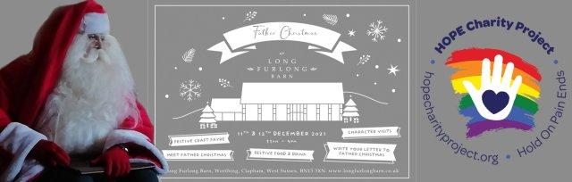 Meet Father Christmas at Long Furlong Barn -