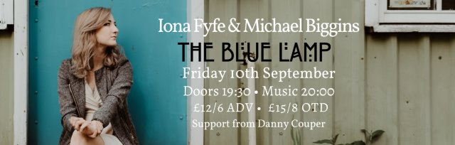 Iona Fyfe with Michael Biggins at The Blue Lamp