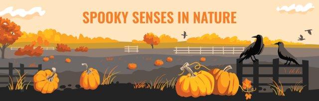 Spooky Senses in Nature PM 4th-6th Grades