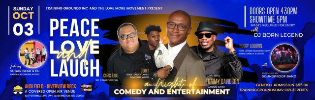 Peace, Love & Laugh: A Night of Comedy & Entertainment