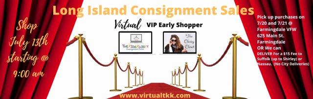 The Kids Kloset /Classy Closet MEGA SUMMER 2021 VIRTUAL Consignment Sale