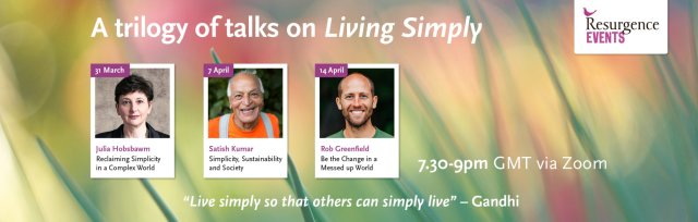 Living Simply Series - A Trilogy of Talks