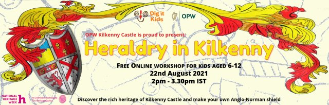 Heraldry in Kilkenny - Online History Workshop for Kids