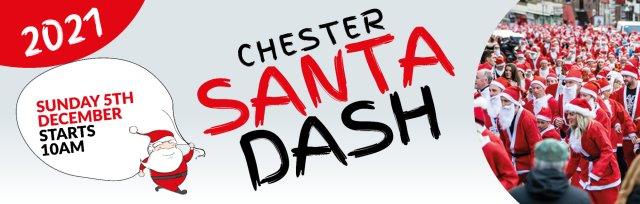Chester Santa Dash 2021