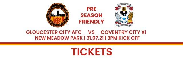 Gloucester City AFC V Coventry City XI