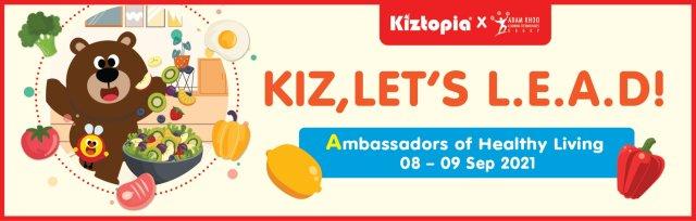 Ambassadors of Healthy Living - Sept School Holiday Programme