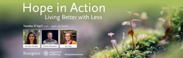 Hope In Action - Living Better with Less