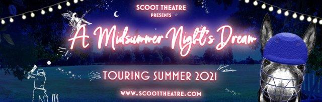 Scoot Theatre's 'A Midsummer Night's Dream' at Blackheath (Surrey) Cricket Club