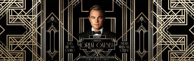 Great Gatsby Boat Party - 28 May Sydney