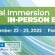 Total Immersion In-Person Experience Ft. Worth! image