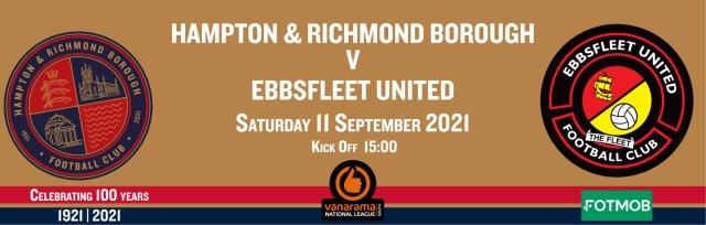 Hampton & Richmond v Ebbsfleet United