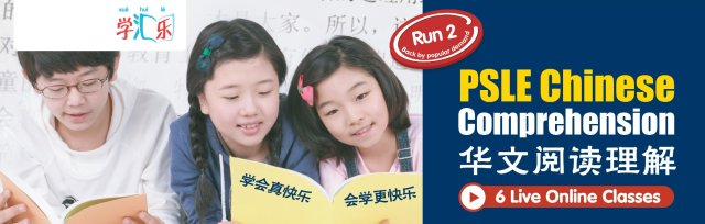 PSLE Chinese Comprehension (6 Live Online Classes) [Run 2]