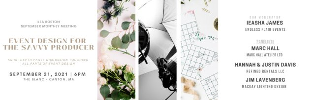 Event Design for the Savvy Producer