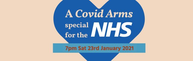 A Covid Arms special for the NHS – LIVESTREAM TICKET