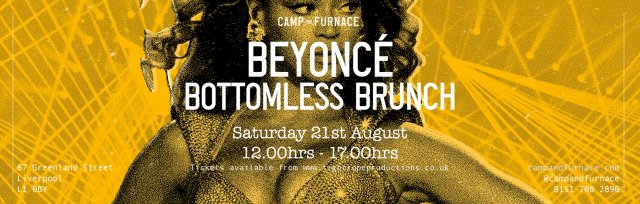 Beyonce Bottomless Brunch and Show at Camp and Furnace, Liverpool