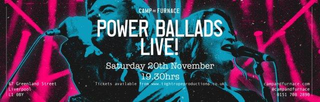 Power Ballads Live!