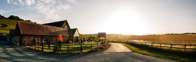 Wedding Open Day at Long Furlong Barn