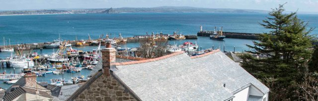 St Ives September Festival :  Talk by Rolfe Kentish : 'A stage set with panoramic views over Mounts Bay'