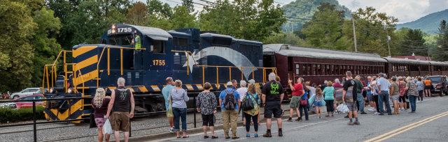 September 11th, 2021 Great Smoky Mountain Train Excursion